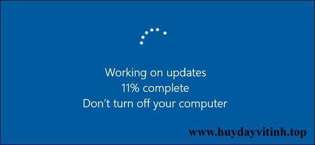 cách tắt update trên window 10