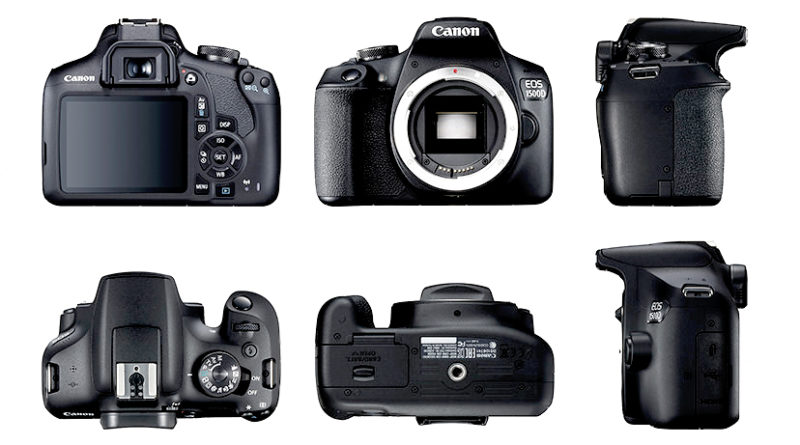 tìm hiểu các bộ phận khác nhau của máy ảnh