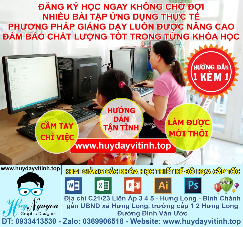 khoa-hoc-word-excel-corel-photoshop-illustrator-ai-tai-binh-chanh-long-an