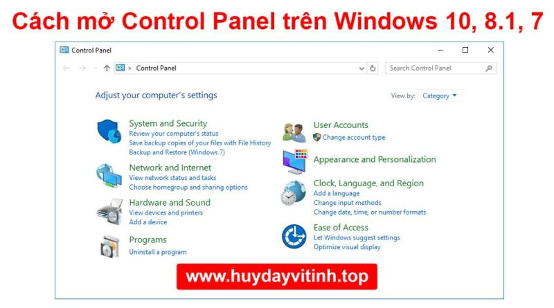 cach-mo-control-panel-tren-windows-10-8-7